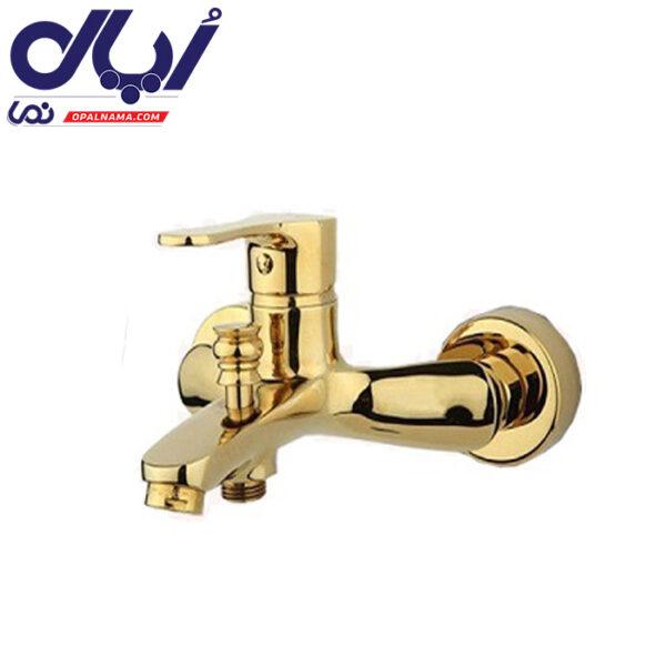 شیر حمام صدف طلایی راسان